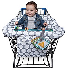 image of Boppy® Luxe Shopping Cart Cover in Jumbo Dots