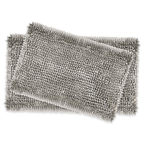 Good Image Of Laura Ashley® Butter Chenille Bath Rugs (Set Of 2)