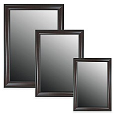 image of hitchcock butterfield decorative wall mirror in greenblack - Decorative Wall Mirrors