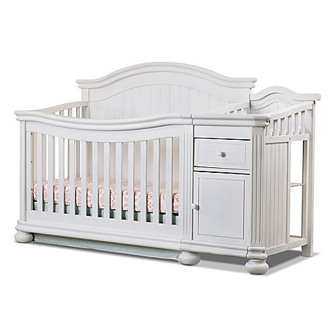 Ideal Sorelle Finley 4-in-1 Convertible Crib and Changer - Bed Bath & Beyond MQ62