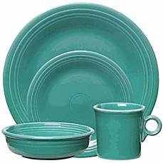 image of Fiesta® Dinnerware Collection in Turquoise