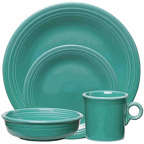 Fiestau0026reg; Dinnerware Collection in Turquoise  sc 1 st  Bed Bath u0026 Beyond & Fiesta® Dinnerware Collection in Turquoise - Bed Bath u0026 Beyond