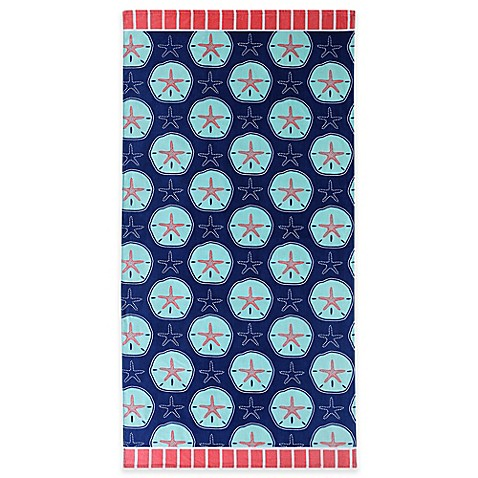 Clairebella sand dollars beach towel bed bath beyond for Clairebella