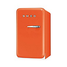 image of smeg u002750s retro style single door lefthand hinge 15 cu