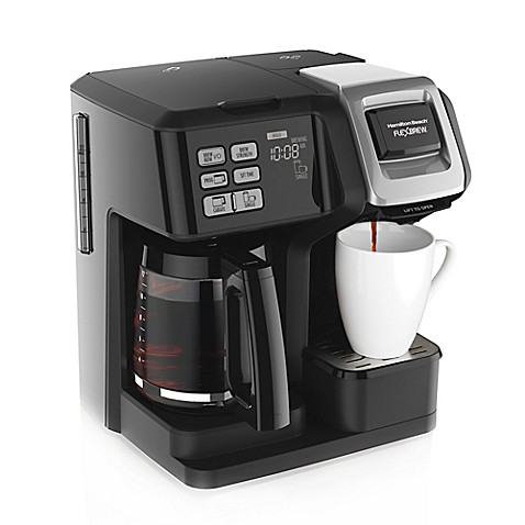 image of hamilton beach flexbrew 2way coffee maker - Coffee Brewer