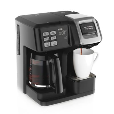 Coffee Makers Sold At Bed Bath And Beyond : Hamilton Beach FlexBrew 2-Way Coffee maker - Bed Bath & Beyond