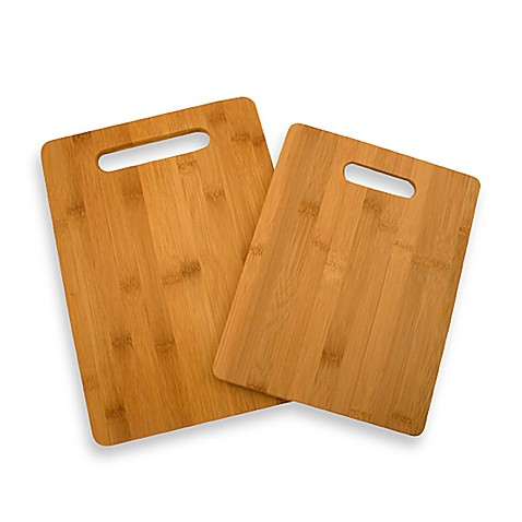 Bamboo Cutting Boards Set Of 2 Bed Bath Amp Beyond