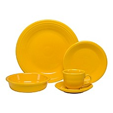 image of Fiesta® 5-Piece Place Setting in Daffodil