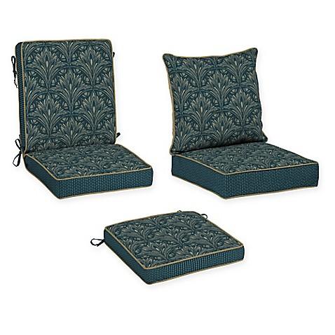 Bombay Royal Zanzibar Outdoor Cushion Collection In Blue Bed Bath Be