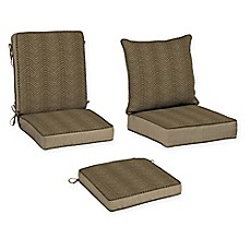 image of Bombay® Zebra Outdoor Cushion Collection in Tan