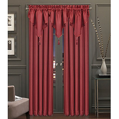 J Queen New York Jasper Rod Pocket Window Curtain Panel