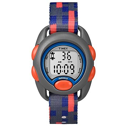 Timex® Time Machines Children's 34mm Digital Watch in Grey ...