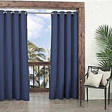 image of Parasol Key Largo Grommet Top Window Curtain Panel