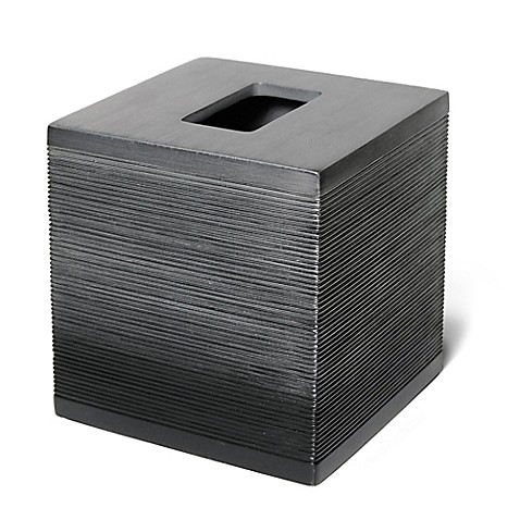 Veratex Ridley Pewter Boutique Tissue Box Cover Bed Bath Amp Beyond