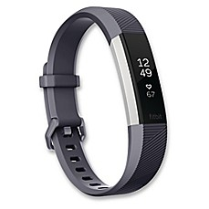 image of Fitbit® Alta HR™ Fitness Wristband in Blue/Grey