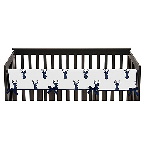 Sweet Jojo Designs Woodland Deer Long Crib Rail Guard
