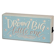image of Primitives by Kathy Dream Big LED Box Sign