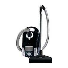 image of Miele Compact C1 Turbo Team Canister Vacuum in Black