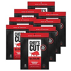 image of Chef's Cut Real Steak Jerky 8-Pack in Original Recipe