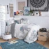 image of Beautiful Wanderer Boho Elephant Bedroom