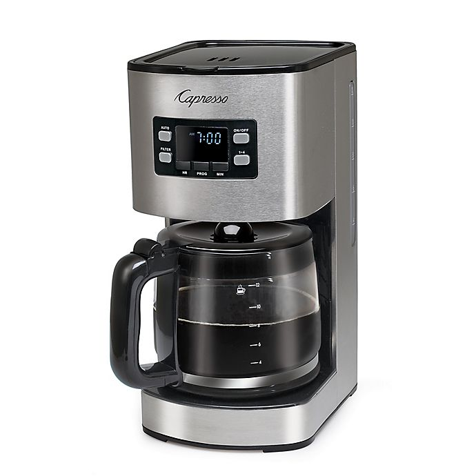 Capresso Sg300 12 Cup Stainless Steel Coffee Maker Bed Bath Beyond