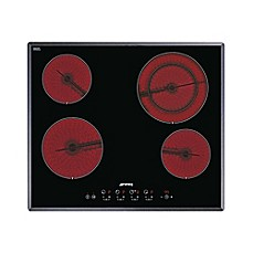 image of Smeg 24-Inch Ceramic Electric Cooktop