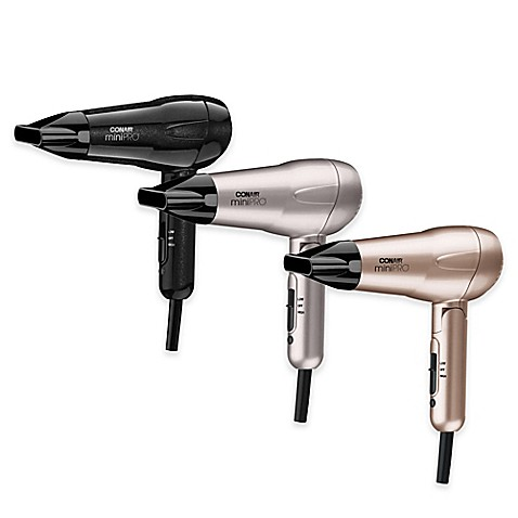 ConairR Mini Pro Tourmaline Ceramic Styler Hair Dryer