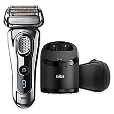 image of Braun Series 9-9295CC Wet & Dry Electric Shaver in Chrome