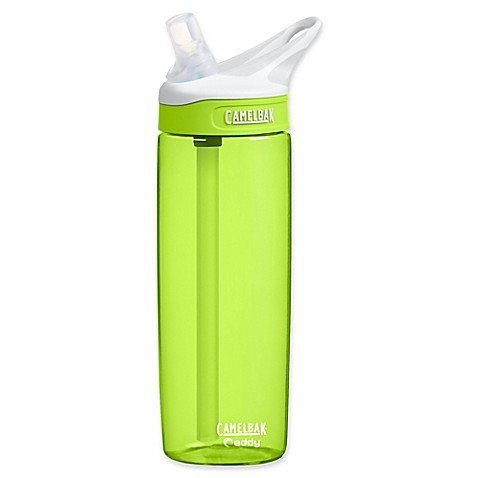 buy camelbak eddy 0 6 liter water bottle in green from bed bath beyond. Black Bedroom Furniture Sets. Home Design Ideas