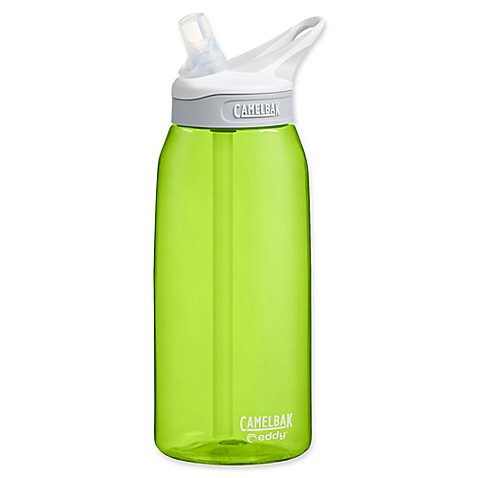 buy camelbak eddy 1 liter water bottle in green from bed bath beyond. Black Bedroom Furniture Sets. Home Design Ideas