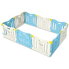 image of BABY CARE™ Funzone Baby Play Pen in Sky Blue
