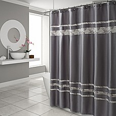 Periodic table of elements shower curtain bed bath beyond croscill spa tile shower curtain in grey urtaz Choice Image