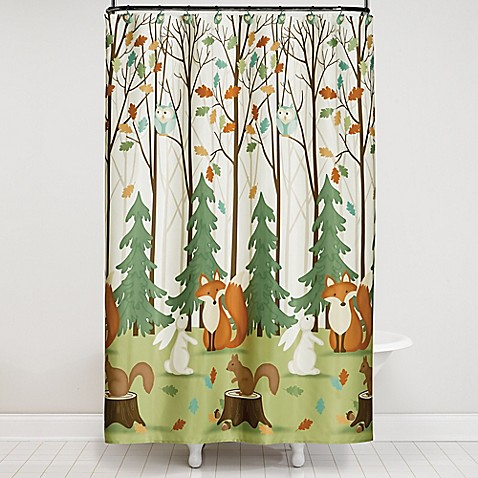 Saturday knight 13 piece fall friends shower curtain and for Fall bathroom sets