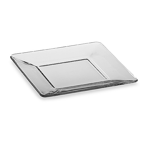 Libbey® Tempo 8-Inch Square Glass Salad Plate - Bed Bath & Beyond
