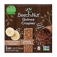 image of Beech-Nut® Banana and Cocoa Quinoa Crispies