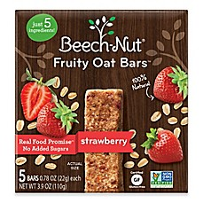 image of Beech-Nut® Stage 3 3.9 oz. Strawberry Fruity Oat Bars