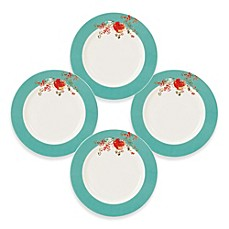 image of Simply Fine Lenox® Chirp™ Dessert Plates (Set of 4)
