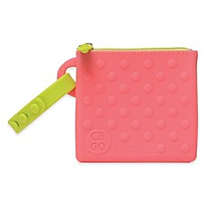 image of chewbeads® CB Go Silicone Small Pouch in Pink