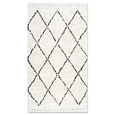 image of nuLOOM Moroccan Hand Knotted Fez Shag Rug