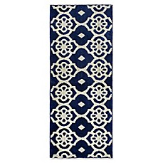 image of Jean Pierre Meeko Rug in Navy/Berber