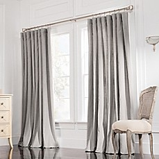 image of Valeron Estate Rod Pocket Insulated Double-Width Window Curtain Panel