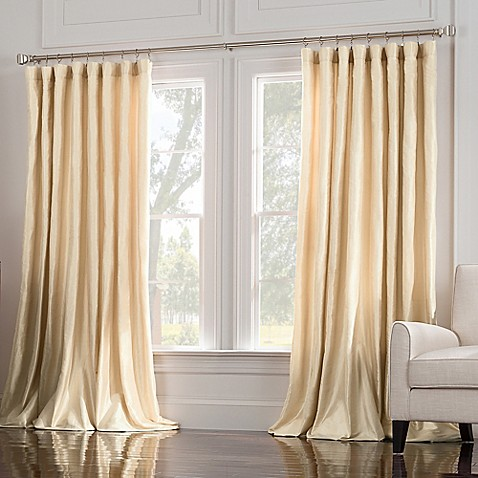 Valeron Estate Silk Double Wide Window Curtain Panel Bed