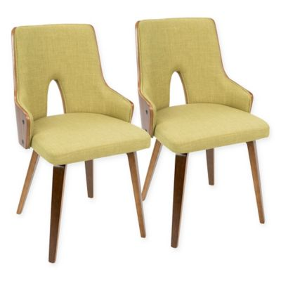 image of LumiSource Stella Mid-Century Modern Padded Dining Chair