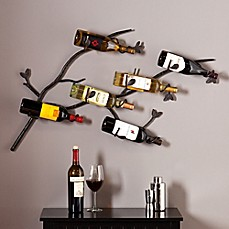image of Southern Enterprise Brisbane Wall Wine Rack