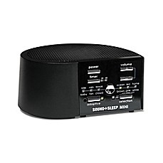 image of Sound+Sleep Mini Sound Machine in Black