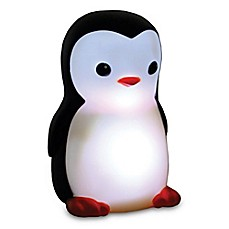 image of Danny the Penguin Portable Night Light in Black/Off White