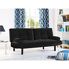 image of serta chelsea convertible sofa - Futon Sofa Beds