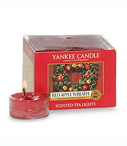 Velas tealight Yankee Candle® Red Apple Wreath™, 12 pzas.