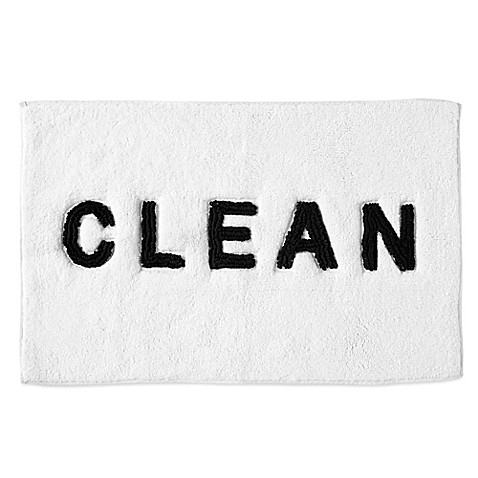 Dkny Chatter Bath Rug In White