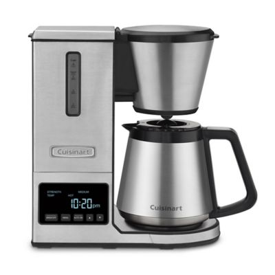 Buy Cuisinart PurePrecision Pour-Over Coffee Brewer with Stainless Steel Carafe from Bed Bath ...